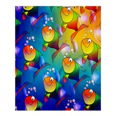Fish Pattern Shower Curtain 60  x 72  (Medium)
