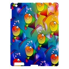Fish Pattern Apple iPad 3/4 Hardshell Case