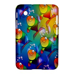 Fish Pattern Samsung Galaxy Tab 2 (7 ) P3100 Hardshell Case