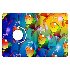 Fish Pattern Kindle Fire Hdx Flip 360 Case