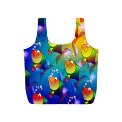 Fish Pattern Full Print Recycle Bags (s)