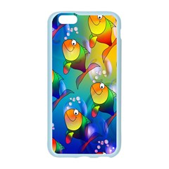 Fish Pattern Apple Seamless iPhone 6/6S Case (Color)