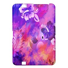 Abstract Flowers Bird Artwork Kindle Fire Hd 8 9