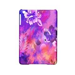 Abstract Flowers Bird Artwork Ipad Mini 2 Hardshell Cases