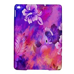 Abstract Flowers Bird Artwork iPad Air 2 Hardshell Cases