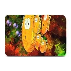 Abstract Fish Artwork Digital Art Plate Mats