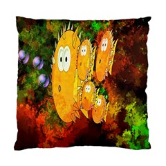 Abstract Fish Artwork Digital Art Standard Cushion Case (Two Sides)