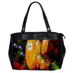 Abstract Fish Artwork Digital Art Office Handbags