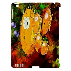 Abstract Fish Artwork Digital Art Apple Ipad 3/4 Hardshell Case (compatible With Smart Cover)