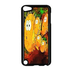 Abstract Fish Artwork Digital Art Apple iPod Touch 5 Case (Black)