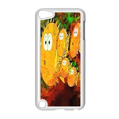 Abstract Fish Artwork Digital Art Apple iPod Touch 5 Case (White)