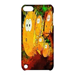 Abstract Fish Artwork Digital Art Apple Ipod Touch 5 Hardshell Case With Stand