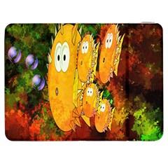 Abstract Fish Artwork Digital Art Samsung Galaxy Tab 7  P1000 Flip Case