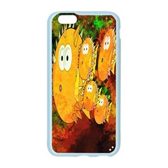 Abstract Fish Artwork Digital Art Apple Seamless iPhone 6/6S Case (Color)