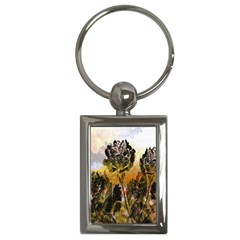 Abstract Digital Art Key Chains (Rectangle)