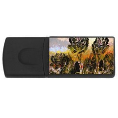 Abstract Digital Art USB Flash Drive Rectangular (2 GB)