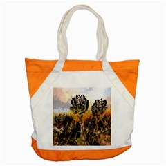 Abstract Digital Art Accent Tote Bag