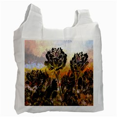 Abstract Digital Art Recycle Bag (One Side)