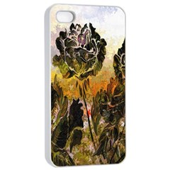 Abstract Digital Art Apple iPhone 4/4s Seamless Case (White)