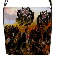 Abstract Digital Art Flap Messenger Bag (S)