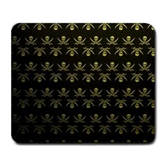 Abstract Skulls Death Pattern Large Mousepads