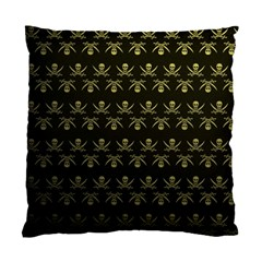 Abstract Skulls Death Pattern Standard Cushion Case (one Side)