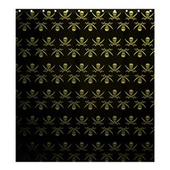 Abstract Skulls Death Pattern Shower Curtain 66  x 72  (Large)