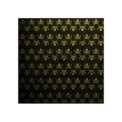 Abstract Skulls Death Pattern Acrylic Tangram Puzzle (4  x 4 )