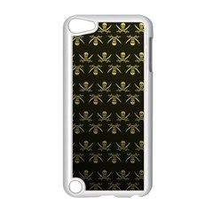 Abstract Skulls Death Pattern Apple Ipod Touch 5 Case (white)