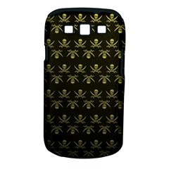 Abstract Skulls Death Pattern Samsung Galaxy S III Classic Hardshell Case (PC+Silicone)