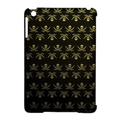 Abstract Skulls Death Pattern Apple iPad Mini Hardshell Case (Compatible with Smart Cover)
