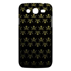 Abstract Skulls Death Pattern Samsung Galaxy Mega 5 8 I9152 Hardshell Case