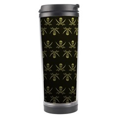 Abstract Skulls Death Pattern Travel Tumbler