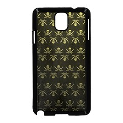 Abstract Skulls Death Pattern Samsung Galaxy Note 3 Neo Hardshell Case (Black)