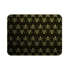 Abstract Skulls Death Pattern Double Sided Flano Blanket (Mini)