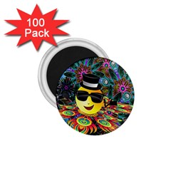 Abstract Digital Art 1.75  Magnets (100 pack)