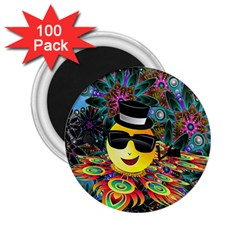 Abstract Digital Art 2.25  Magnets (100 pack)