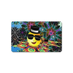 Abstract Digital Art Magnet (Name Card)