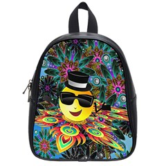 Abstract Digital Art School Bags (Small)
