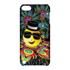 Abstract Digital Art Apple iPod Touch 5 Hardshell Case with Stand