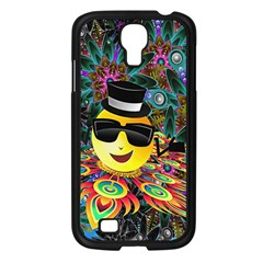 Abstract Digital Art Samsung Galaxy S4 I9500/ I9505 Case (Black)