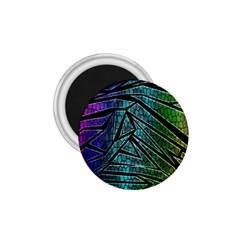 Abstract Background Rainbow Metal 1 75  Magnets