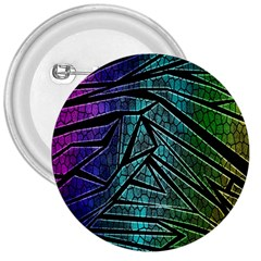 Abstract Background Rainbow Metal 3  Buttons