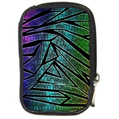 Abstract Background Rainbow Metal Compact Camera Cases