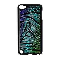 Abstract Background Rainbow Metal Apple iPod Touch 5 Case (Black)