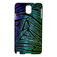 Abstract Background Rainbow Metal Samsung Galaxy Note 3 N9005 Hardshell Case