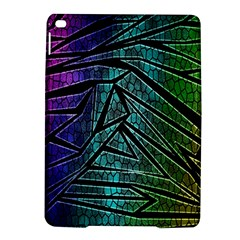 Abstract Background Rainbow Metal iPad Air 2 Hardshell Cases