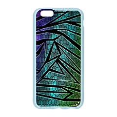 Abstract Background Rainbow Metal Apple Seamless iPhone 6/6S Case (Color)