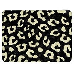 Skin5 Black Marble & Beige Linen (r) Samsung Galaxy Tab 7  P1000 Flip Case