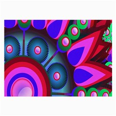 Abstract Digital Art  Large Glasses Cloth (2-Side)